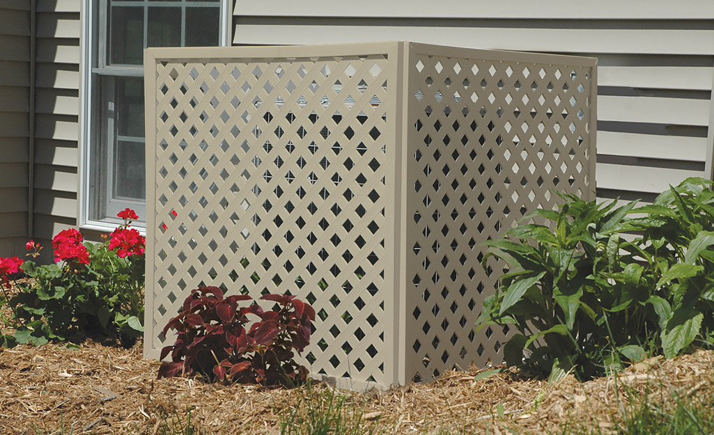 Decorative Outdoor Air Conditioner Cover  from contentgrid.homedepot-static.com