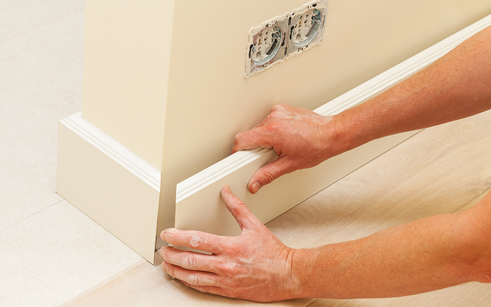 How To Install Baseboard The Home Depot