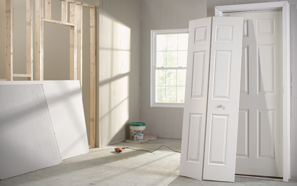How To Install Bifold Doors The Home Depot