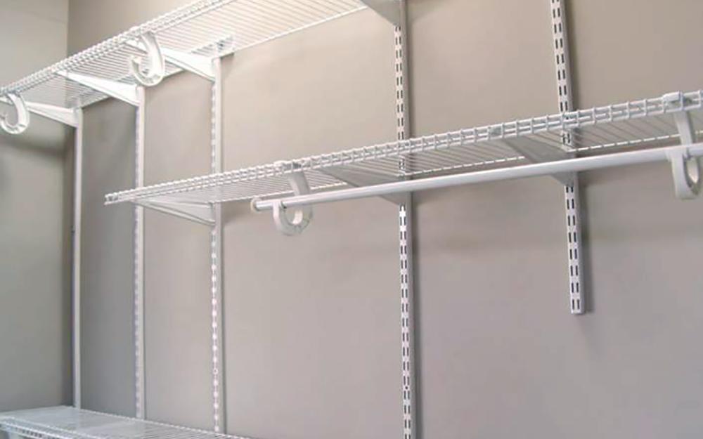 How To Install A Closetmaid Shelftrack Closet Storage System The