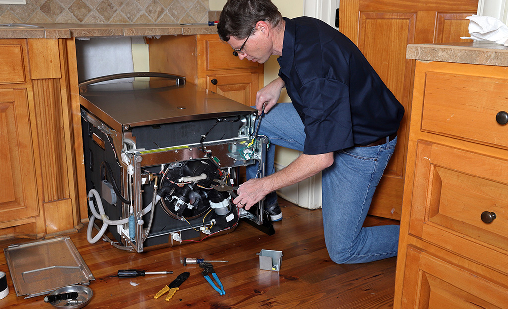 How To Install A Dishwasher The Home Depot
