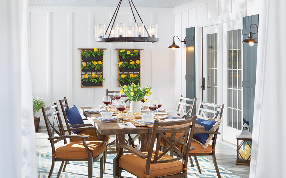 How To Install A Hanging Light Fixture The Home Depot