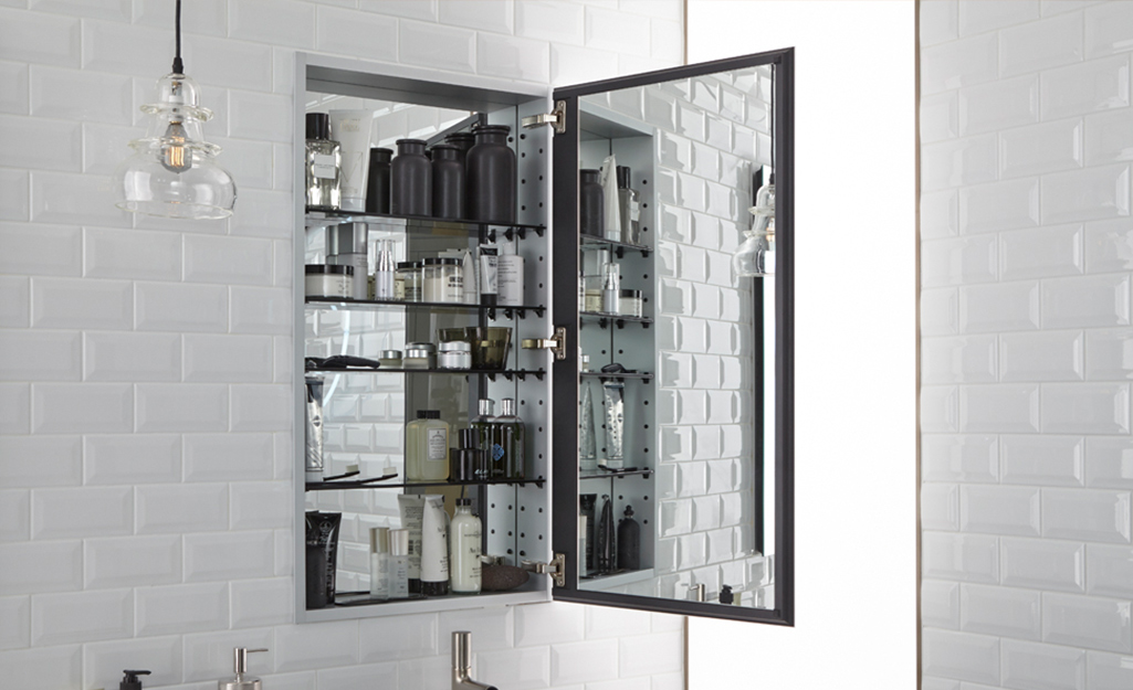 Medicine Cabinet With Side Pull Out Shelves Marcuscable Com