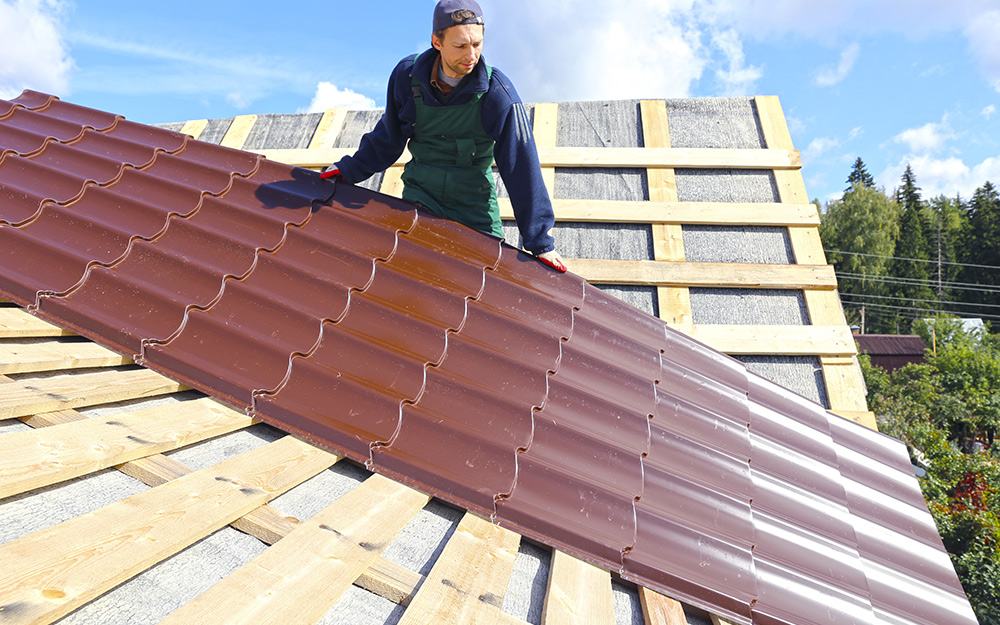 How To Install A Roof >> How To Install Metal Roofing The Home Depot