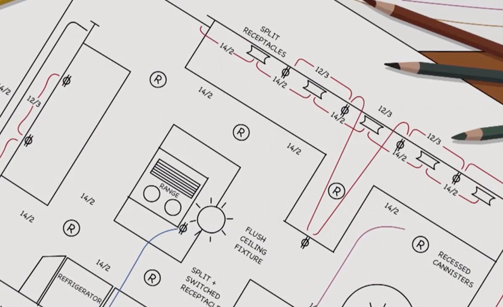 How to Install Circuit Breaker - The Home Depot Back Outlet Wiring Circuit on outlet wiring diagrams, outlet wiring voltage, outlet wiring design, outlet insulation, outlet wiring connections,