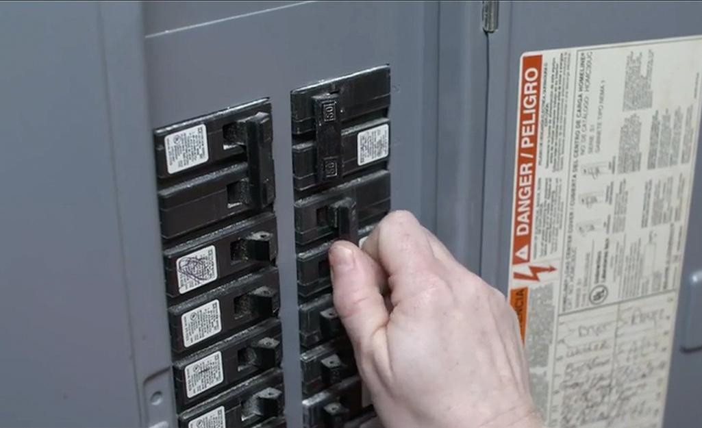 Someone turning off main power at fuse box.