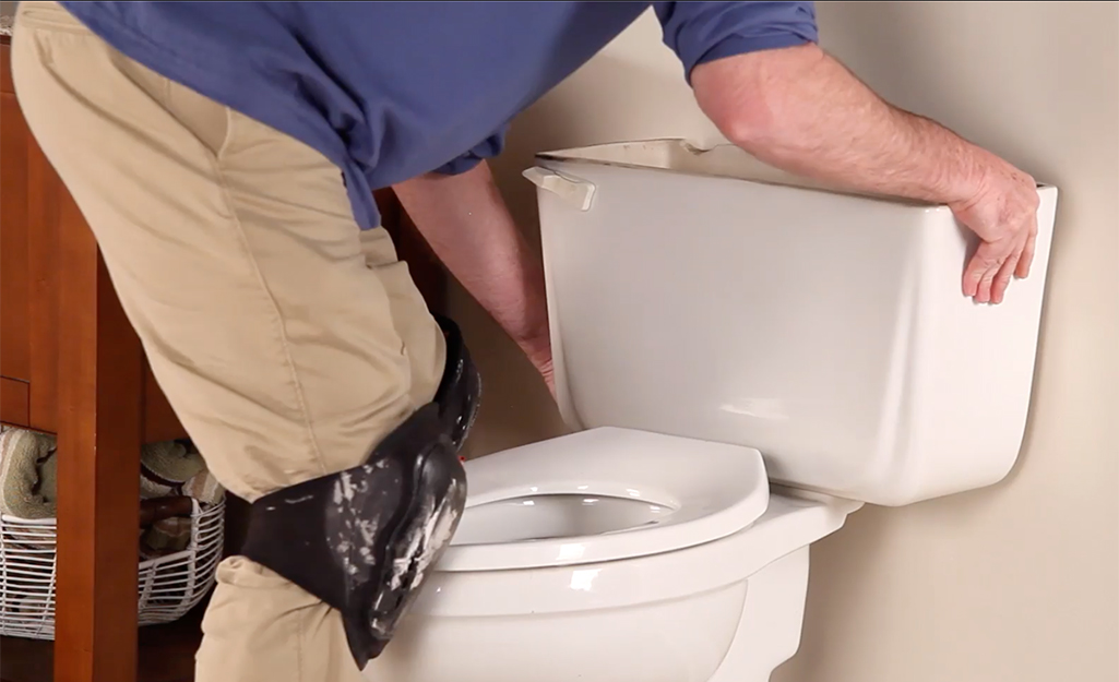 How To Install A Toilet The Home Depot