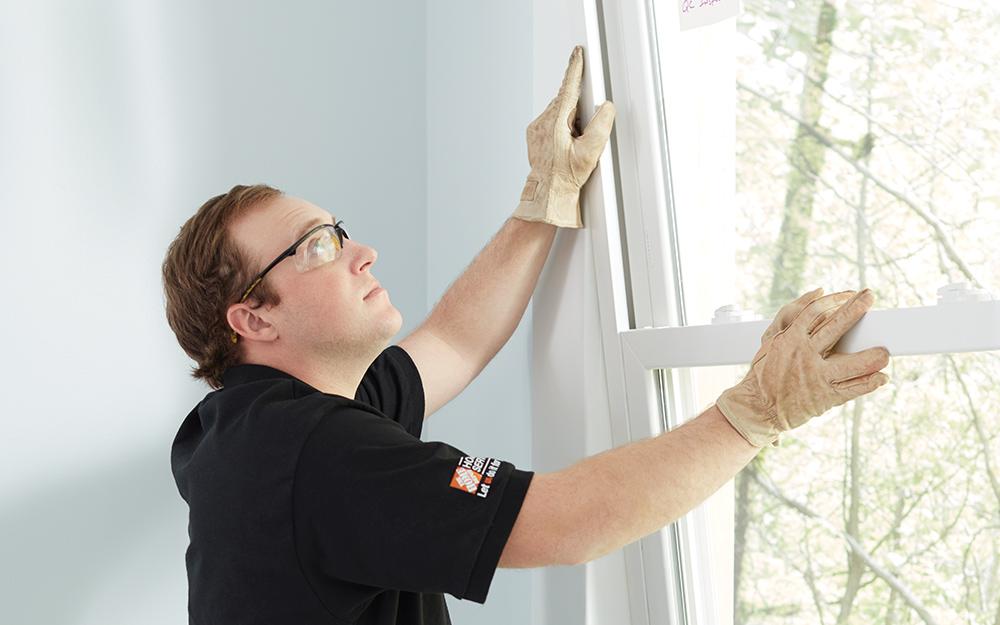 Man tests new window.