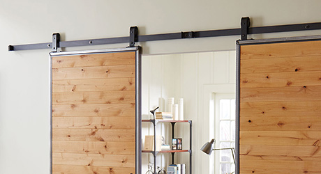 Miraculous How To Install Barn Doors The Home Depot Beutiful Home Inspiration Ommitmahrainfo