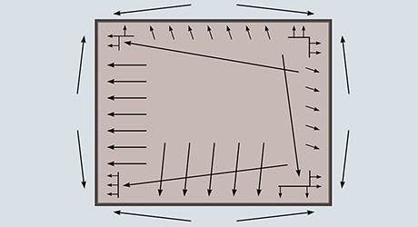 Step 16: Diagram of Carpet Installation Guide