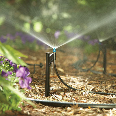 How To Install Drip Irrigation The Home Depot