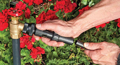 Assemble hoses - Drip Irrigation System