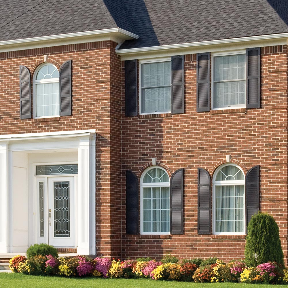 How To Install Exterior Shutters The Home Depot
