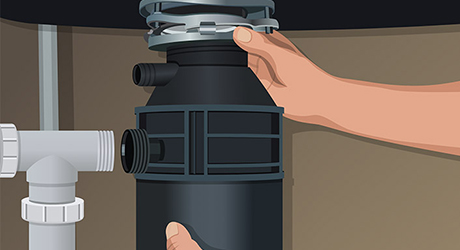 How To Install A Garbage Disposal The Home Depot