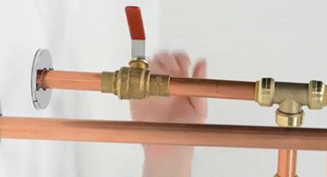 Test gas line leaks - Install Gas Water Heater