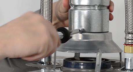 Light pilot - Install Gas Water Heater