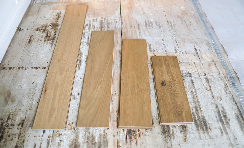 How To Install Hardwood Flooring The Home Depot