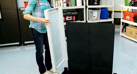 Time to install - Installing HDX Plastic Cabinets