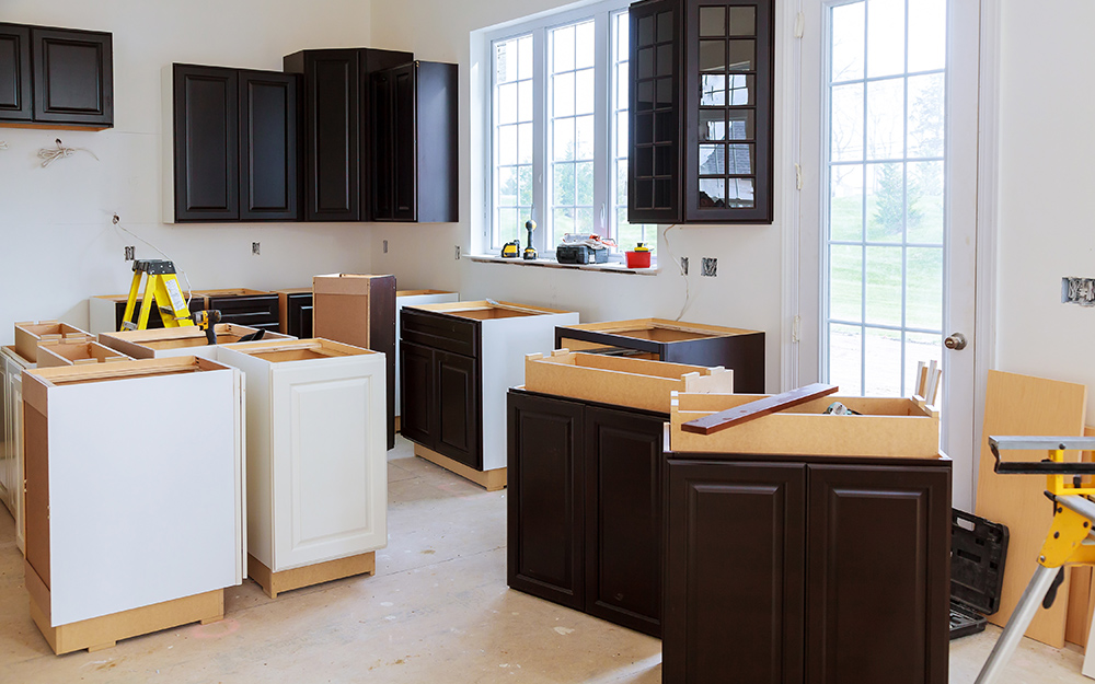 How To Install Kitchen Cabinets The