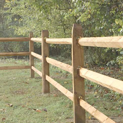 How To Install Posts And Rails The Home Depot