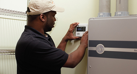 Wire the unit - On-Demand Water Heater