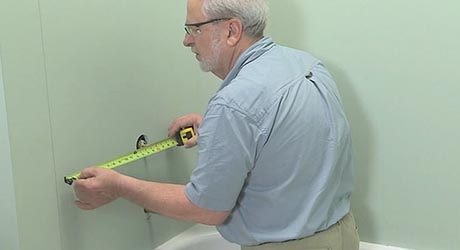 Measure the outlets