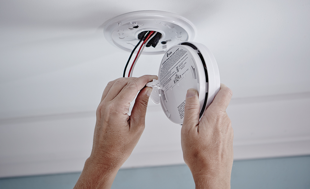 how to install a smoke detector  the home depot