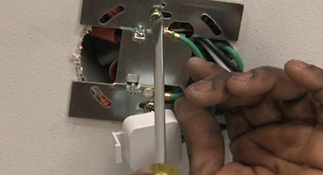 Install Mounting Plate - Track Lighting