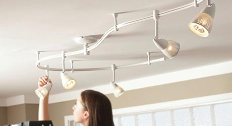 How To Install Track Lighting The Home Depot
