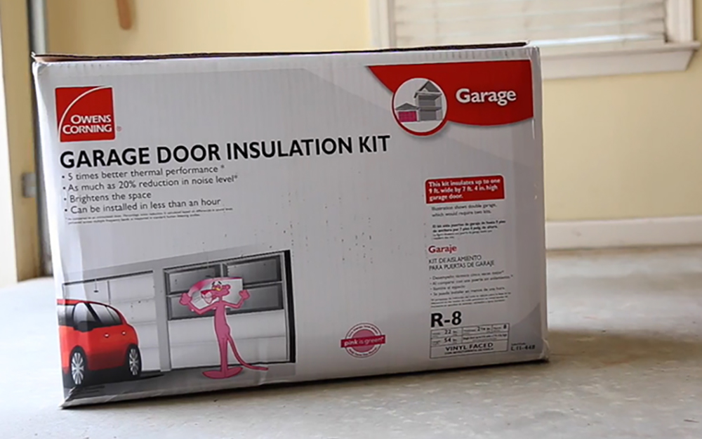 How To Insulate Garage Doors The Home Depot