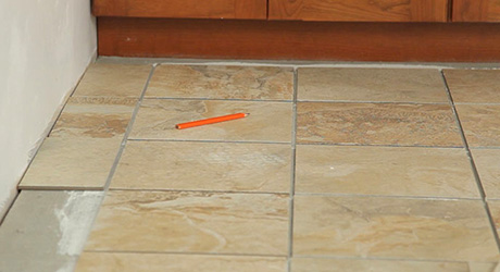 How To Lay Floor Tiles The Home Depot