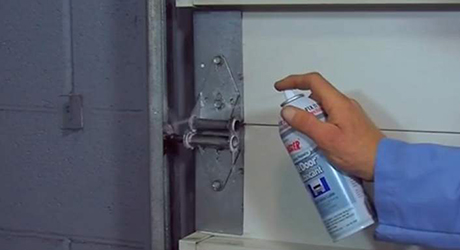 Clean lubricate drive chain - Maintaining Garage Door Openers