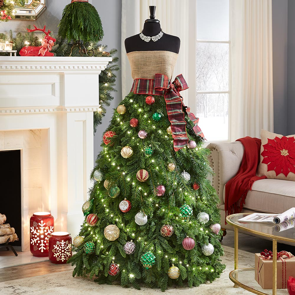 How to Make a Christmas Tree Dress - The Home Depot