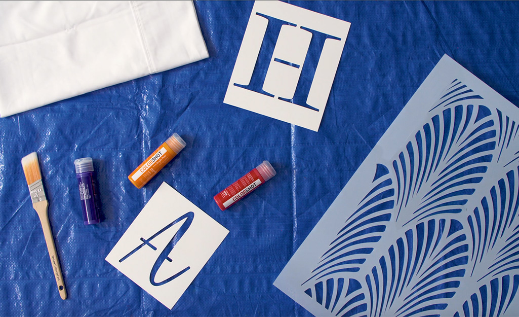 How To Make Diy Personalized Pillowcases The Home Depot