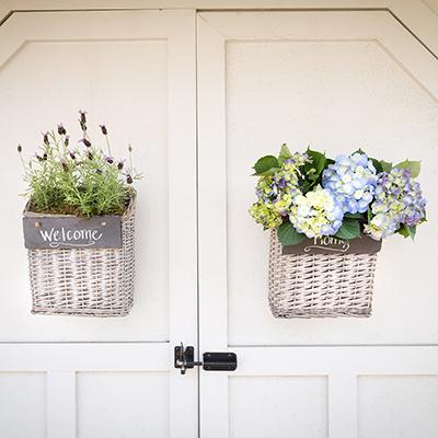 How to Make a Basket Wreath