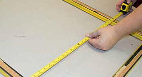 Đo chiều dài chiều cao của khung - Làm khung dây gà