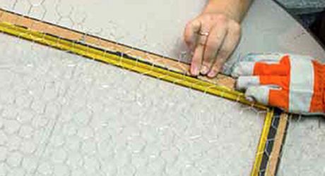 Cut chicken wire - Make Chicken Wire Frame