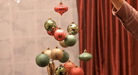 Layer tree - Christmas Ornament Tree