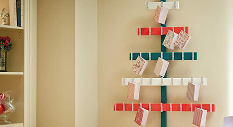 How To Make A Christmas Tree Card Holder The Home Depot