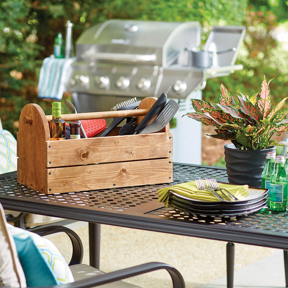 How To Make A Grill Caddy The Home Depot