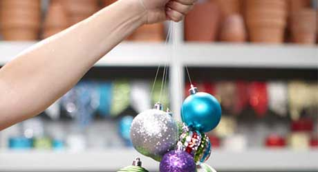 How To Make A Hanging Ornament Chandelier The Home Depot