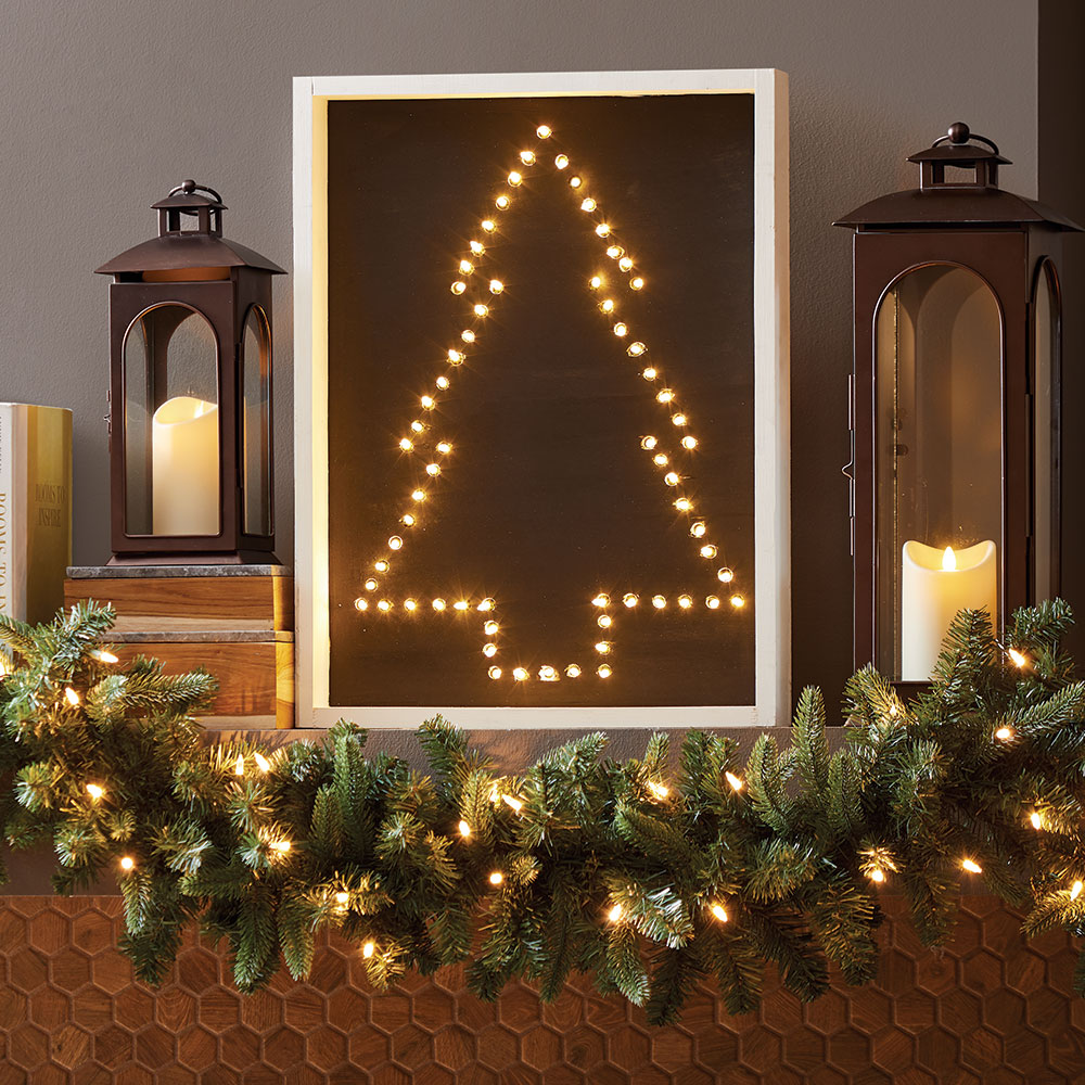 How to Build a Light Up Christmas Sign The Home Depot