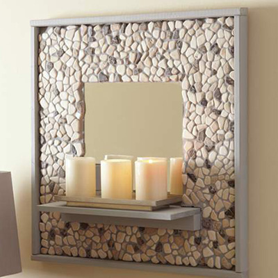 How To Make A Mosaic Tile Mirror The Home Depot