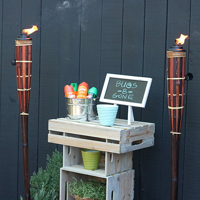 How to Make a Mosquito Repellent Station