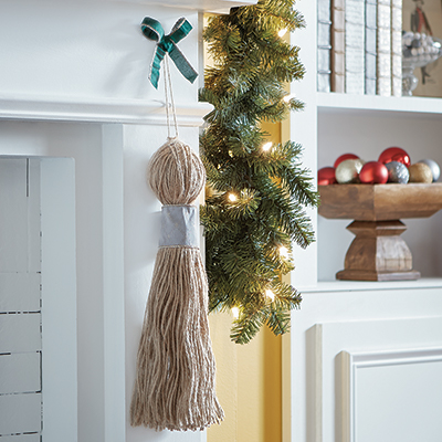 How to Make a Tassel for Christmas Decorating