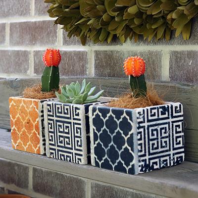 How to Make a Tile Planter