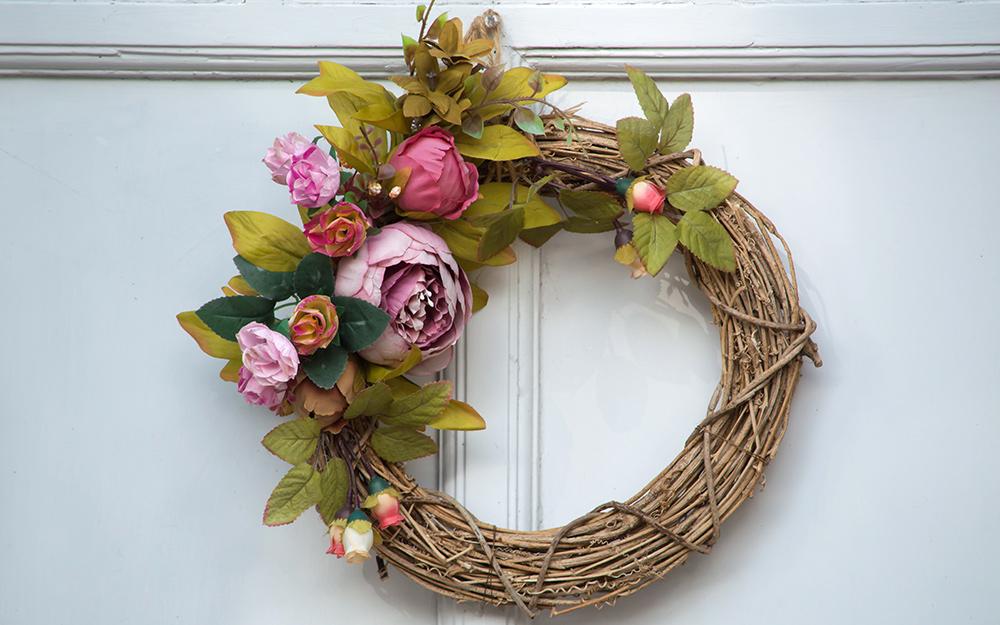 Light Willow Groves Wreath Base x 30cm Christmas Florist Craft Form