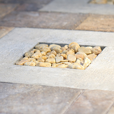 How to Make a Paver and Pebble Pathway