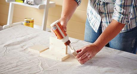 Build storage box - Make Wood Stocking Door Hanger