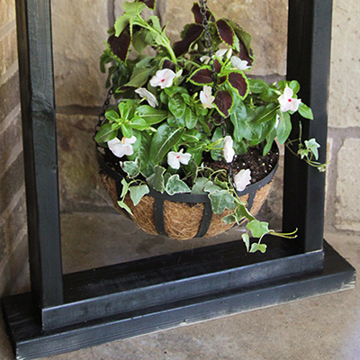 How to Hang a Picture - The Home Depot on Stand For Hanging Plants  id=38615